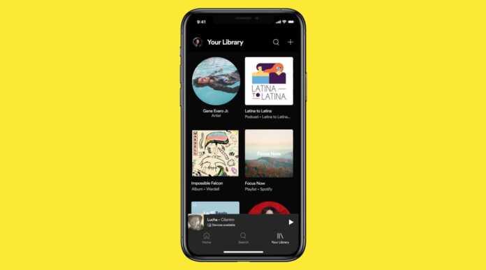 spotify completely revamps the music library improved search dynamic filters.jpg
