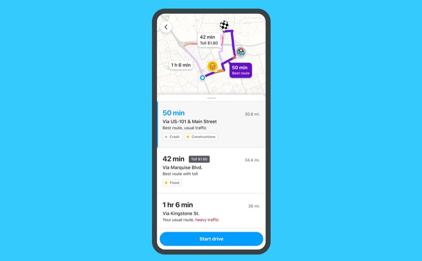 Waze Routes