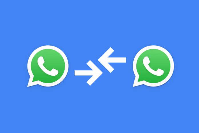google data transfer tool prepares to transfer whatsapp chats from.jpg