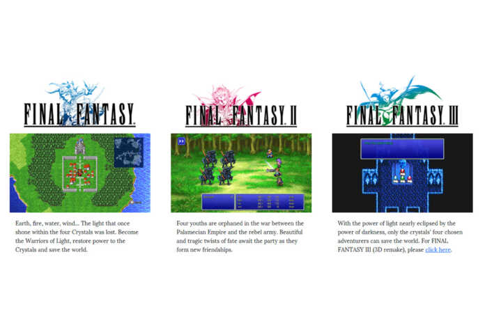the first three final fantasy pixel remaster are now available.jpg
