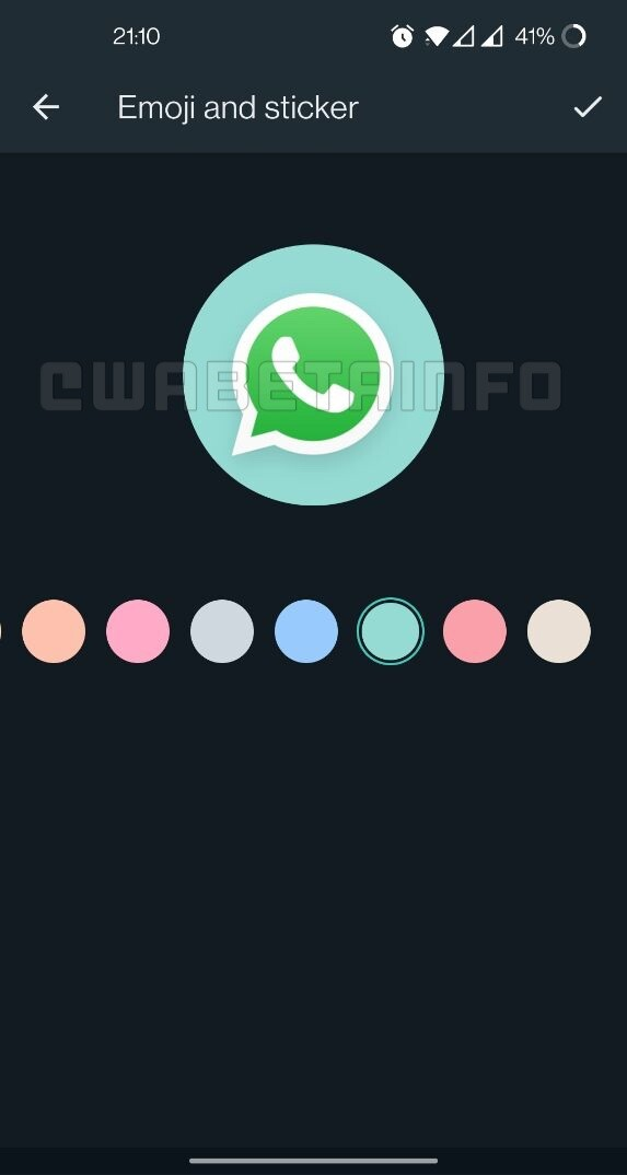 Group icon editor on Android