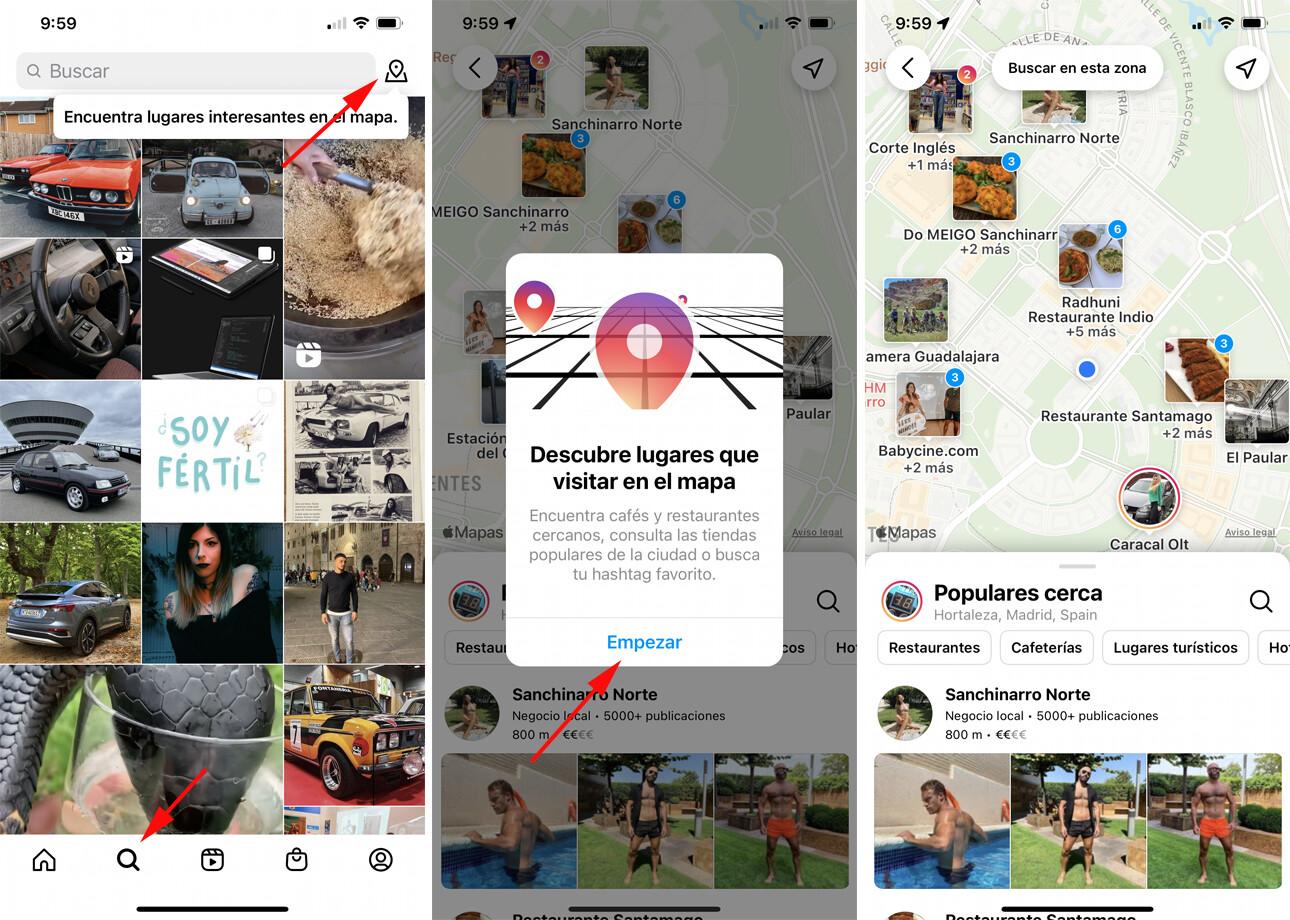 Instagram Popular Places