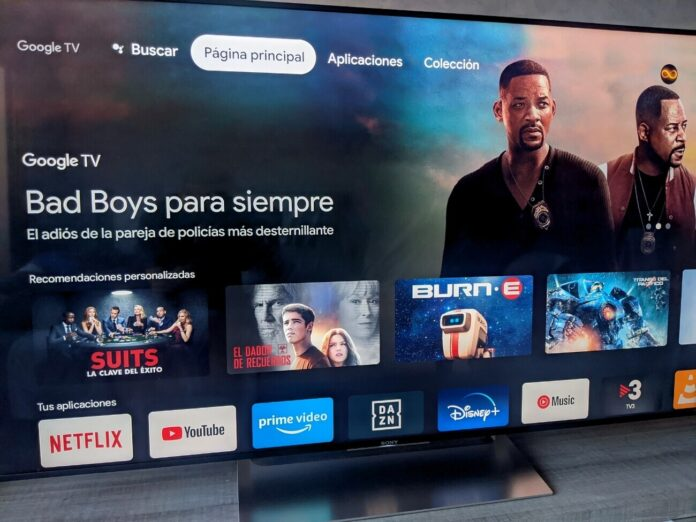 google tv integrates a remote control in the quick settings.jpg