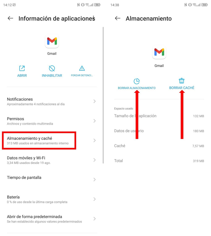 Remove Gmail Account